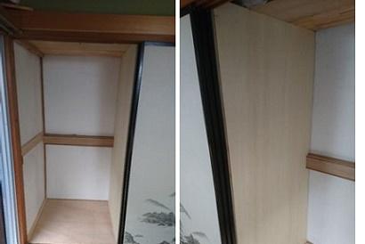 <押入施工事例vol.1>湿気で傷んだ押入の床を改修