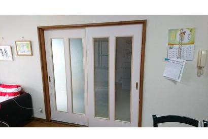 <室内施工事例 vol.6>部屋を明るくするためのドア交換