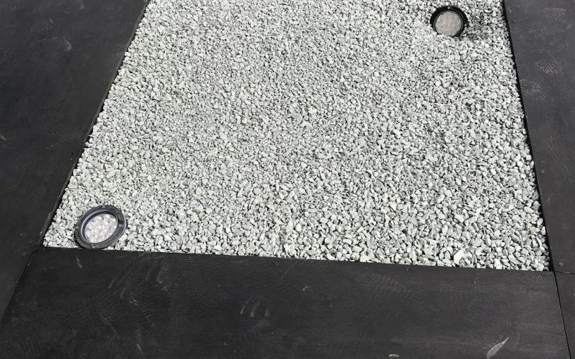 <その他施工事例 vol.18>防草シートを張り、砕石敷きを提案