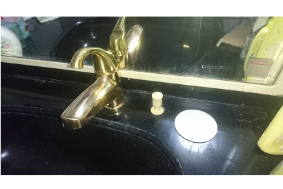 <洗面施工事例 vol.7> 洗面化粧台の水栓交換