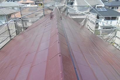 【外回り施工事例 vol.3】 屋根塗装のご依頼