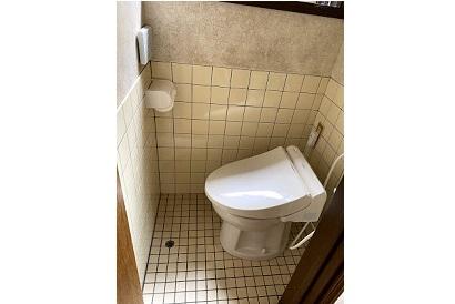 【トイレ施工事例 vol.17】簡易水洗トイレの交換